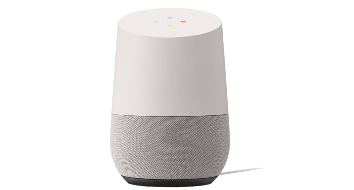 A photo of the Google Home