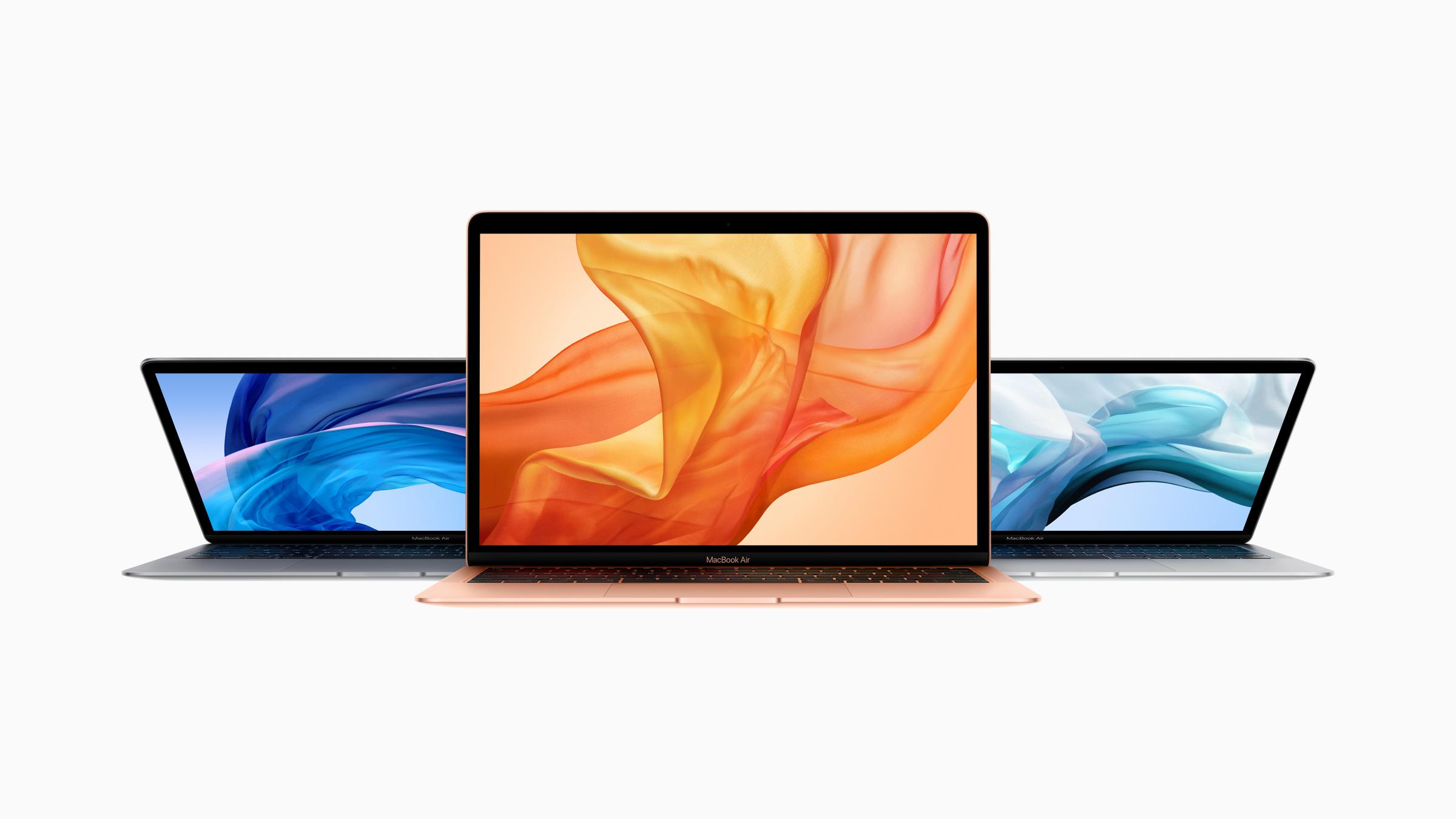 Apple MacBook Air 2018 vs MacBook Air 2015