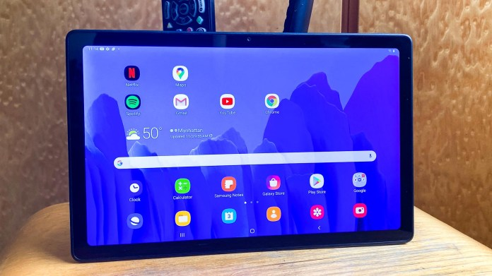 best tablets - Samsung Galaxy Tab A7 review