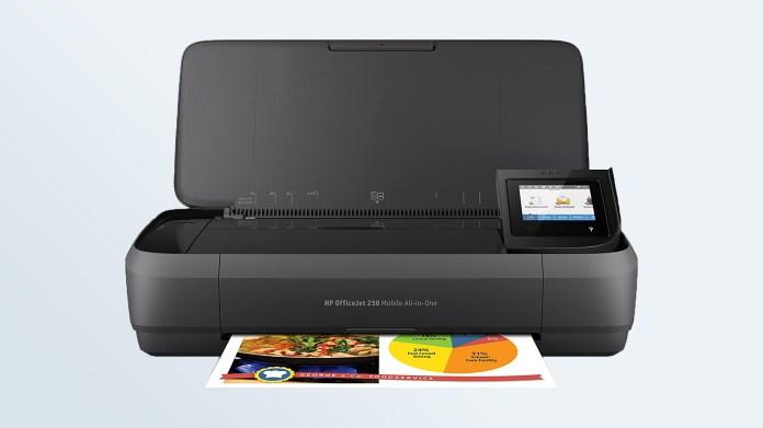 Best all-in-one printers: HP OfficeJet 250