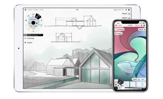Drawing apps for iPad: Concepts screenshot