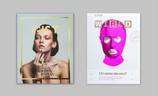magazone cover: Gist and Wired Italia