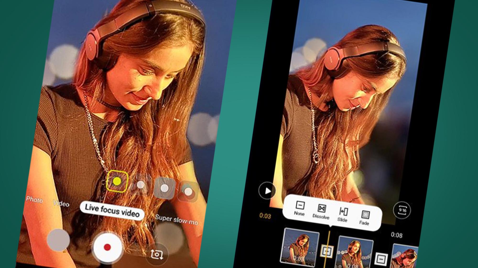 Samsung Live Focus Video