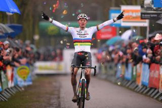Van der Poel, already a double world champion in cyclo-cross