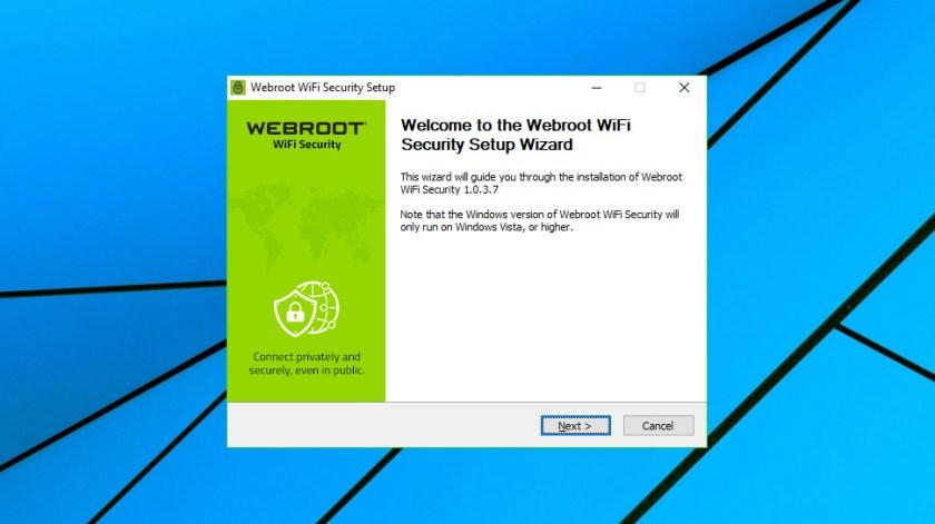 Webroot WiFi Security
