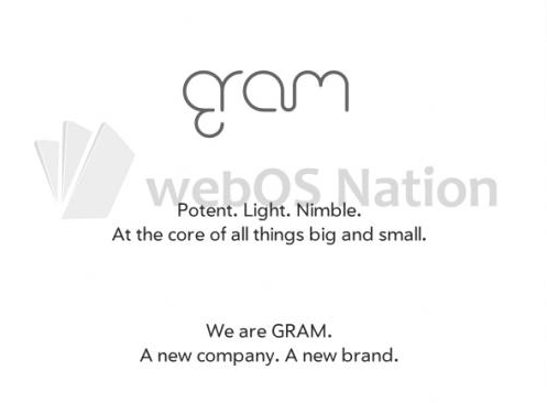 Meet 'Gram': HP spins off WebOS into entirely new brand