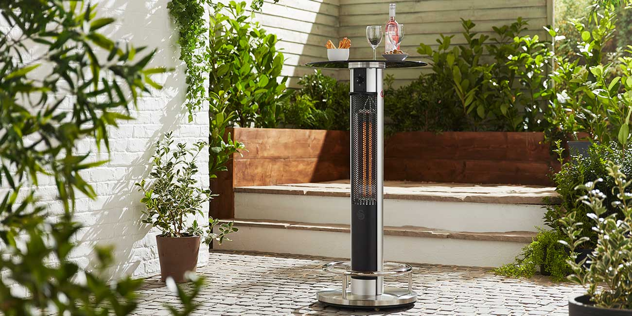 gas and electric patio heaters