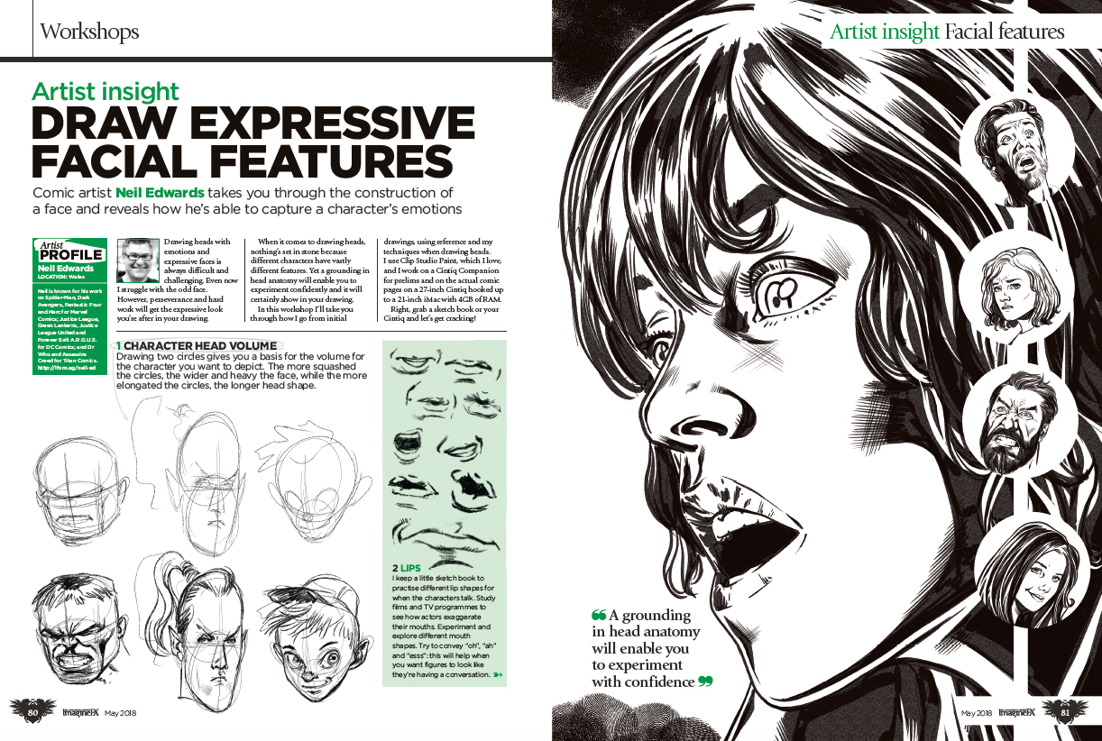 Create explosive comic art with ImagineFX issue 160 8