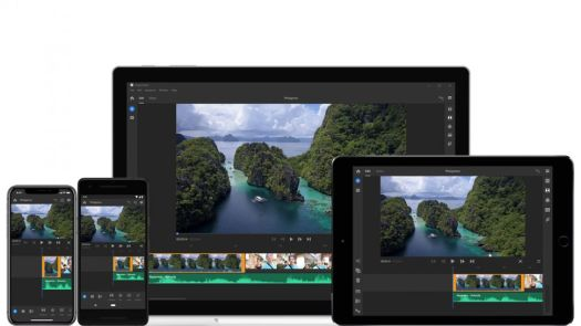 Best video editing apps: Premiere Rush on a variety of devices