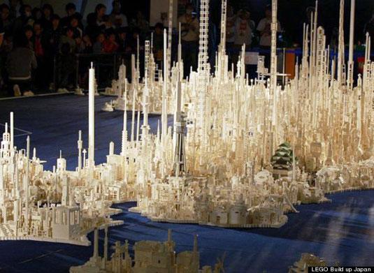 Lego art: Build up Japan