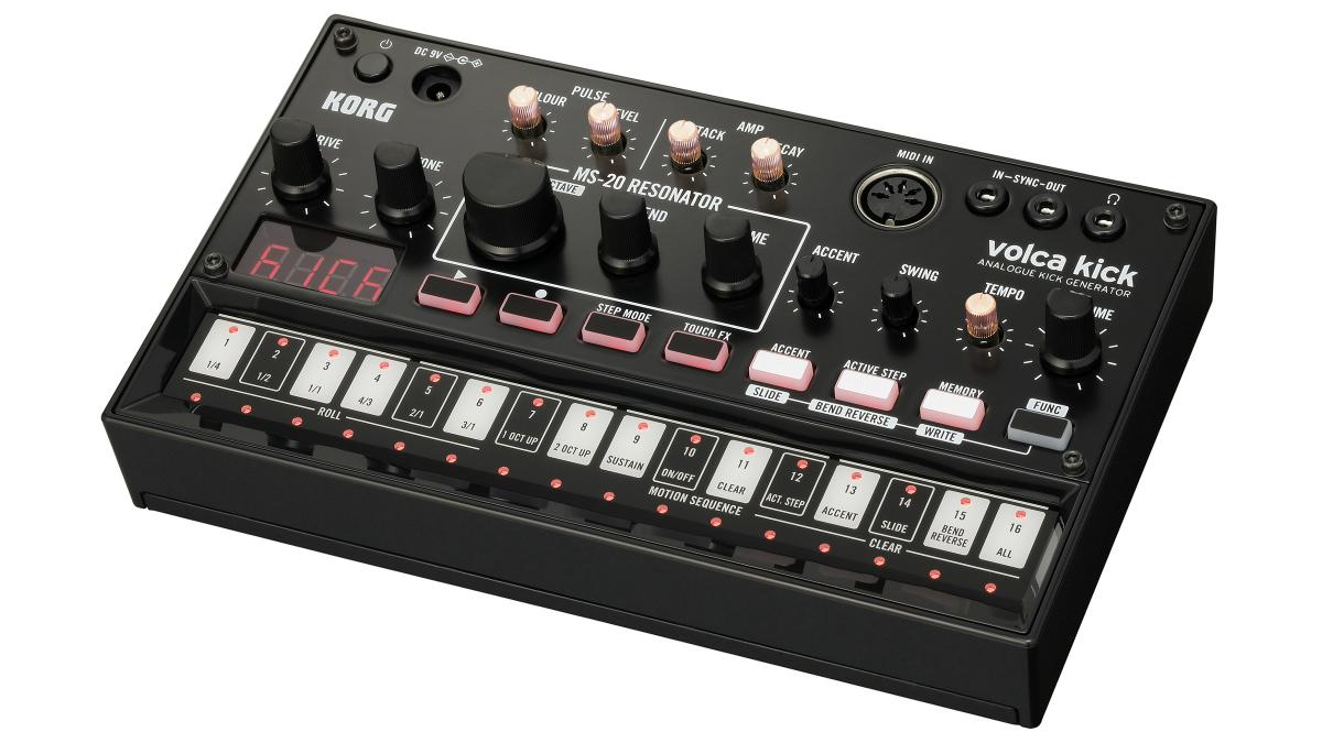 Korg's new Volca Kick is not just a kick drum machine | MusicRadar