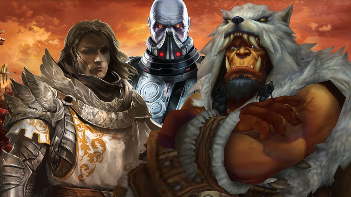 The best MMORPGs to play right now  GamesRadar