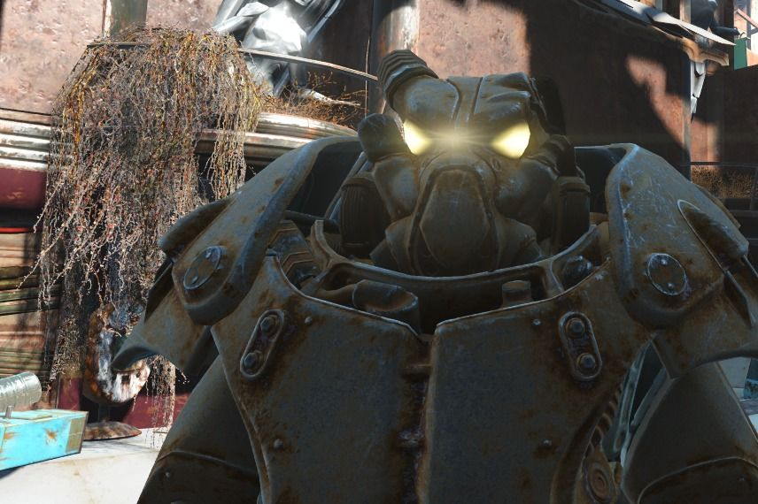 Fallout 4 Power Armor Where To Find The X 01 Power Armor