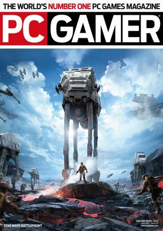 PC Gamer UK June Issue Star Wars Battlefront PC Gamer