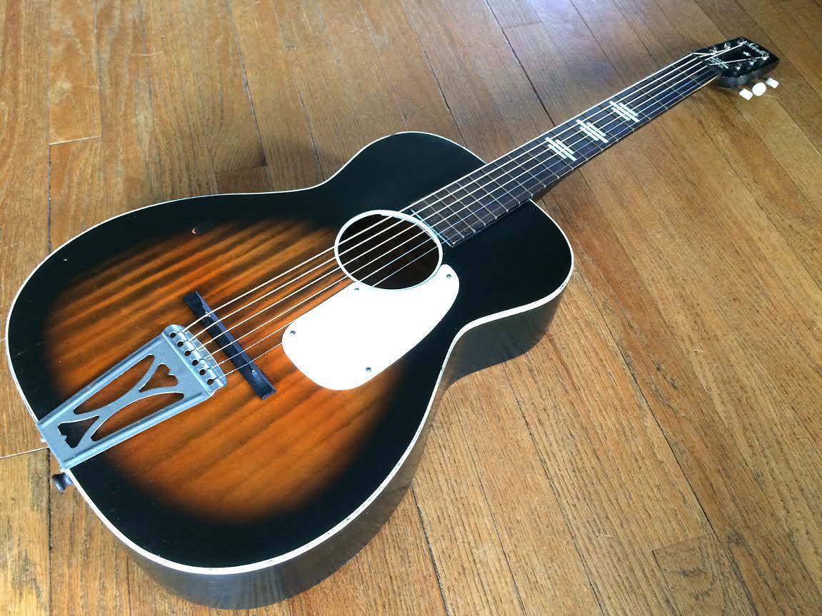 flea market guitar review