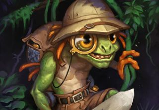 Hearthstones League Of Explorers Is Indiana Jones Remade With A Posh Murloc PC Gamer
