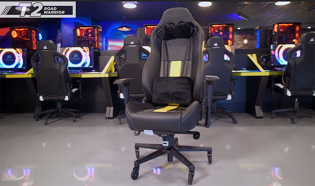 steel net chair pink owl high corsair launches a $400 racing for long-haul gaming sessions | pc gamer