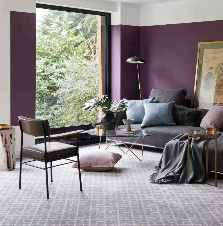 Living room, decorating with grey