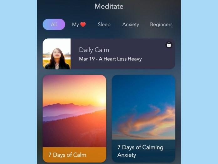 best sleep apps: Calm