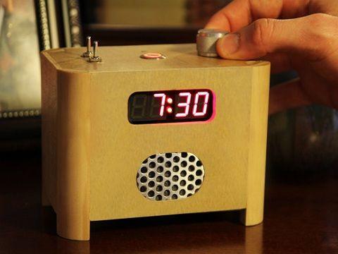 Alarm Clock Features Remote Keypad
