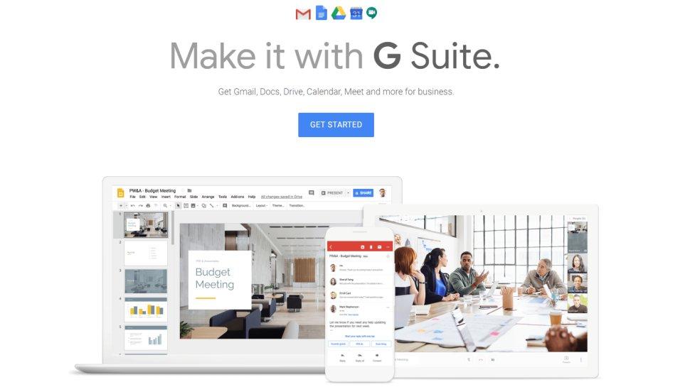 G Suite - Google's online productivity suite