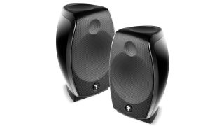 A photo of the Focal Sib Evo speakers