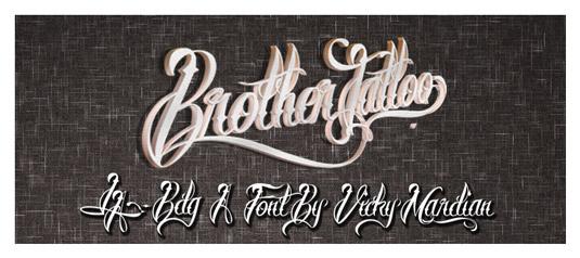 c909b7bd38b27c58939a3b83098bae01 51 free tattoo fonts for your body art Random