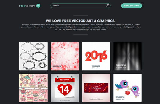Free vector art: FreeVectors