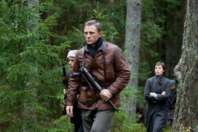 Daniel Craig in Defiance, one of the best Netflix war movies