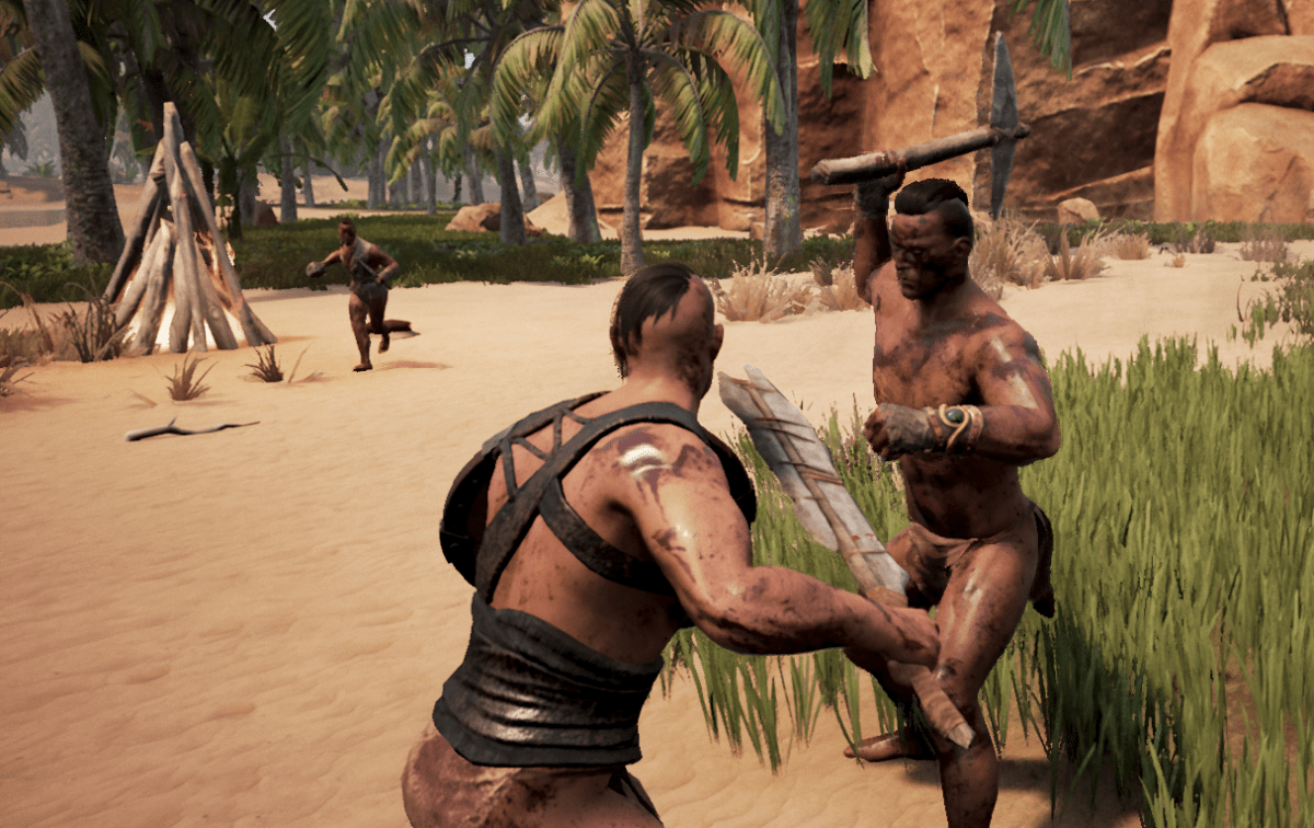 Man Vs Wild Wallpaper 3d Conan Exiles Server Issues And Uninspired Crafting Make