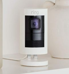 ring stick up cam wired review social networking meets security camera [ 1500 x 938 Pixel ]