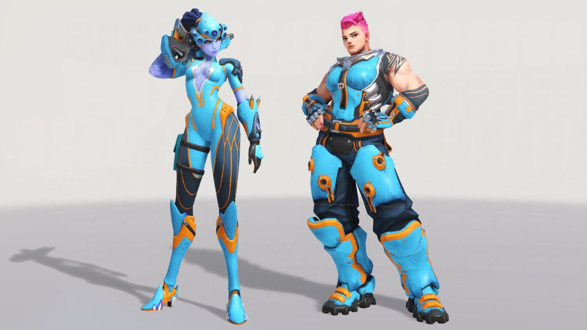 Watch The Brutal Zarya Ult And Ace Widowmaker Sniping That