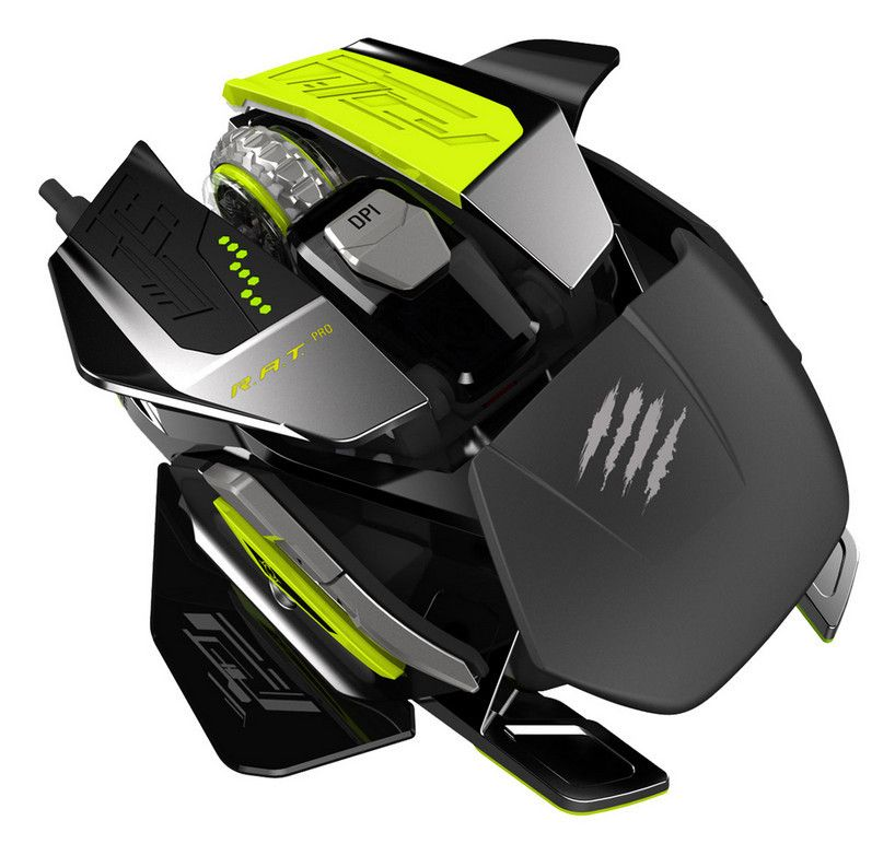 Mad Catzs Rat Pro X Is Insanely Customizable And 200