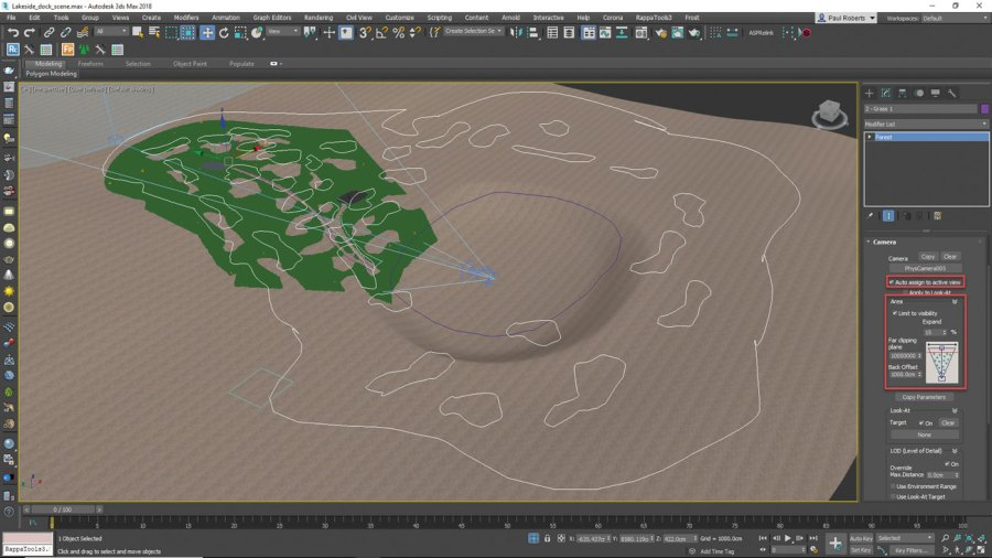 3ds Max - get rid of objects