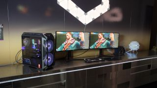 gaming chair with monitors covers homesense the hottest pc gear to look forward in 2018 | techradar
