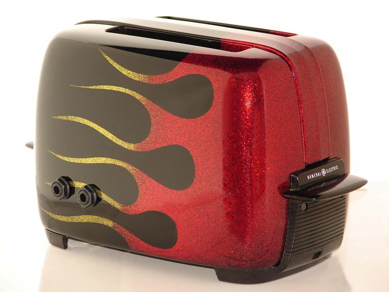 Hottie Custom Toaster Guitar Amp Now With Flames Musicradar