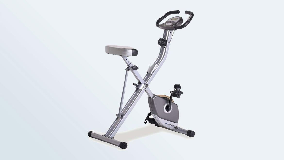 Best Exercise Bikes: Exerpeutic Folding Magnetic Upright Bike