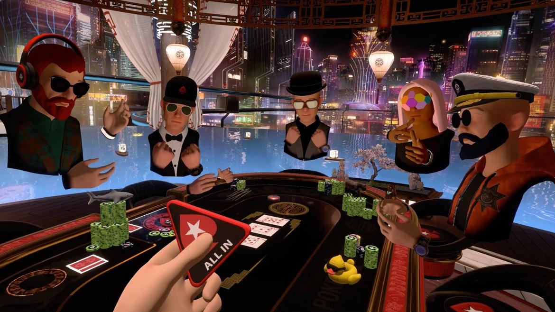 best oculus quest 2: Pokerstars VR
