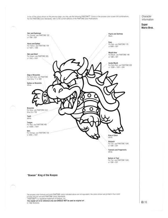Vintage Nintendo manual reveals Pantone colours of iconic