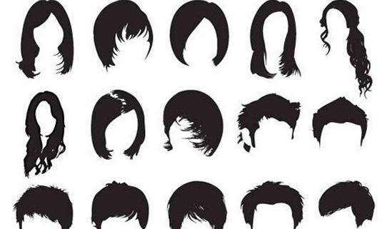 free Photoshop brushes: hair brush