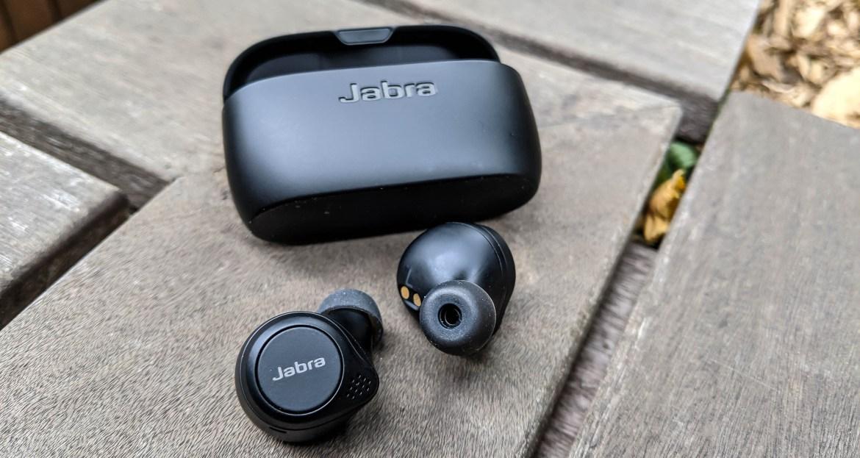 Best cheap noise cancelling headphones: Jabra Elite 75t