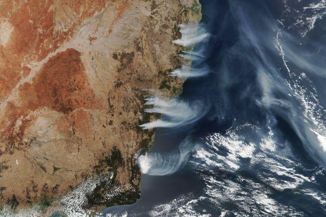 (Crédito de la imagen: Observatorio de la Tierra de la NASA / LaureOS Dauphin / LaureOS Dauphin / LANCE / GIBS / Worldview / Suomi NPP)