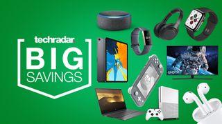 bank holiday sales laptop iPad 4K TV headphone fitness tracker deals