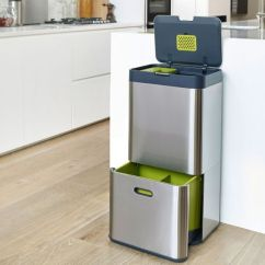 Kitchen Recycling Bins Island Tops The Best Real Homes Todo Alt Text