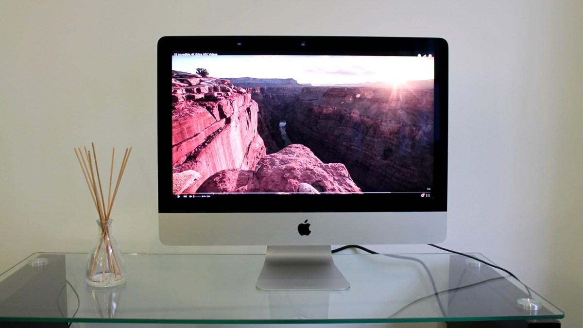 21.5-inch iMac with 4K Retina display - Best Mac 2016