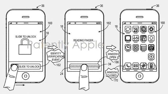 Apple patents fingerprint sensor for biometric iPhone
