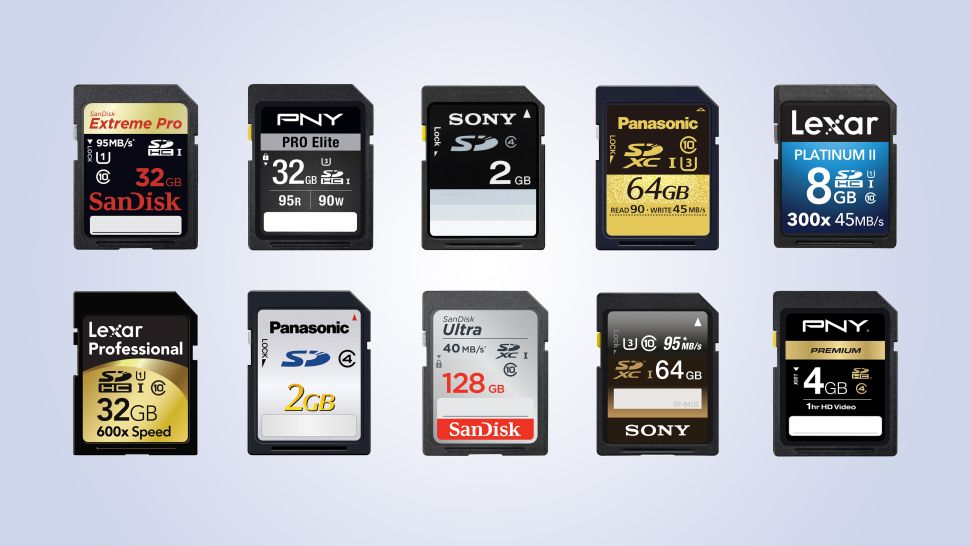 SD memory card buying guide