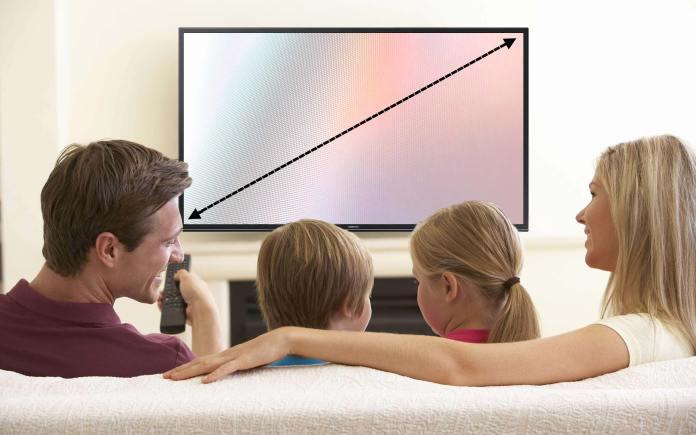 TV buying guide - screen size
