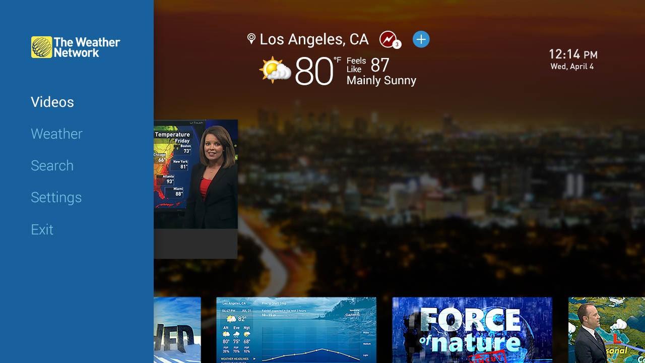 Best Roku channels: Weather Network