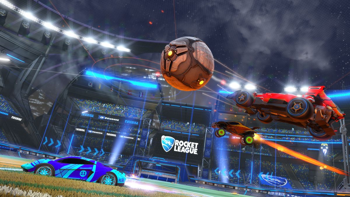 Wallpaper Engine And Pubg Rocket League Anniversary Update Adds New Arena Cars And